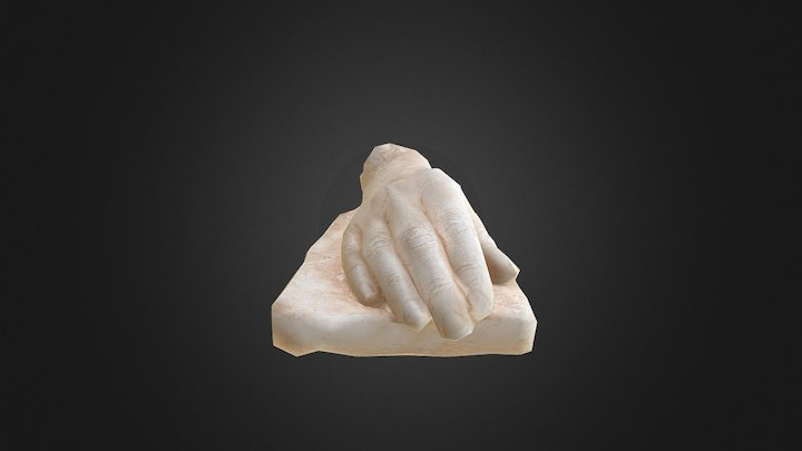 Hands (one of two) 3D Model