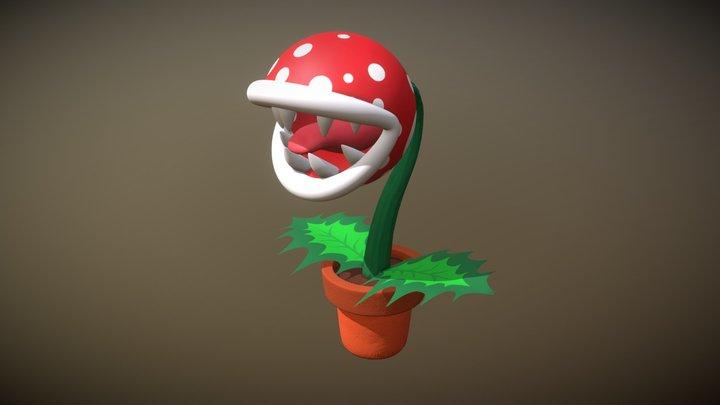 Plante Piranha 3D Model
