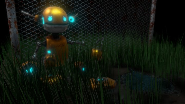 Robot in decay 3D Model