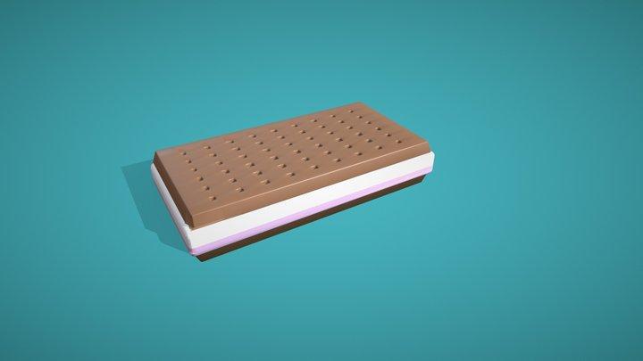 3December 9: Icecream 3D Model