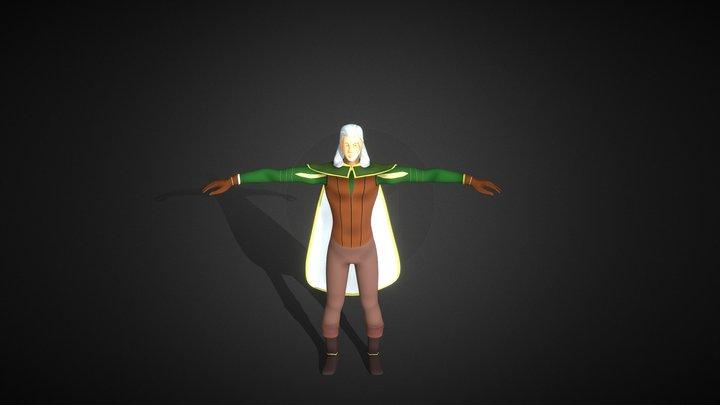 Rowan Whitehorn 3D Model