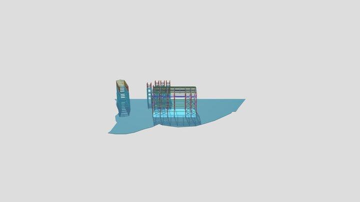 良全廠房新建 3D Model