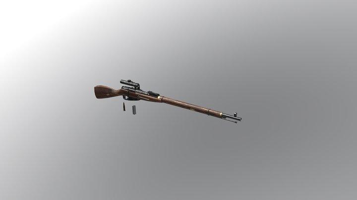 Mosin-Nagant91/30 3D Model