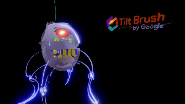 Tilt Bot - My first tilt Brush sketch 3D Model