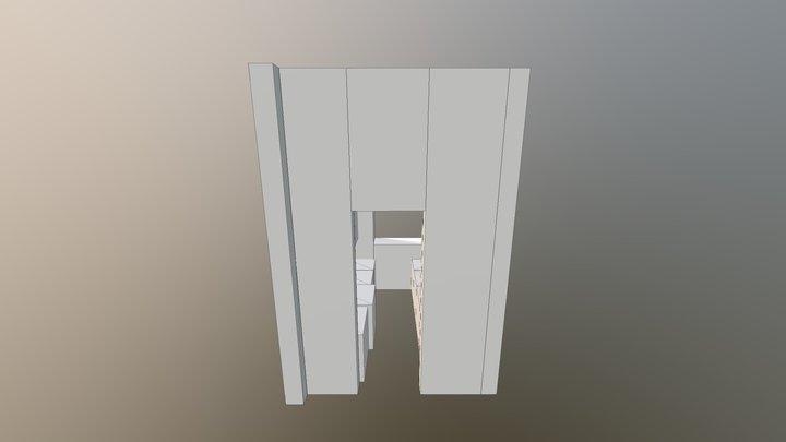 Option 1 - NY Flat 3D Model