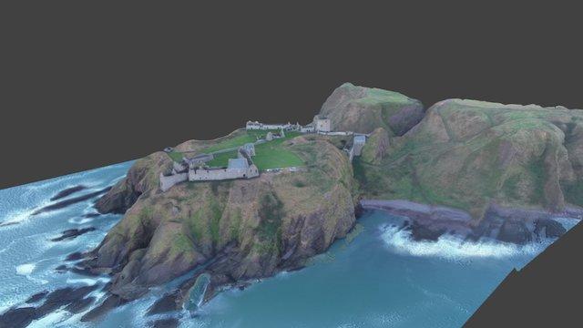 Scottish Castle 3D Model