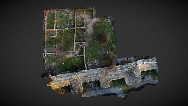 Ambrussum, via domicia, Lunel, France 3D Model