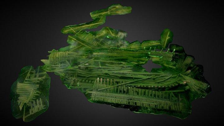 Shipwreck 'Hiilipriki', Åland islands, Finland 3D Model