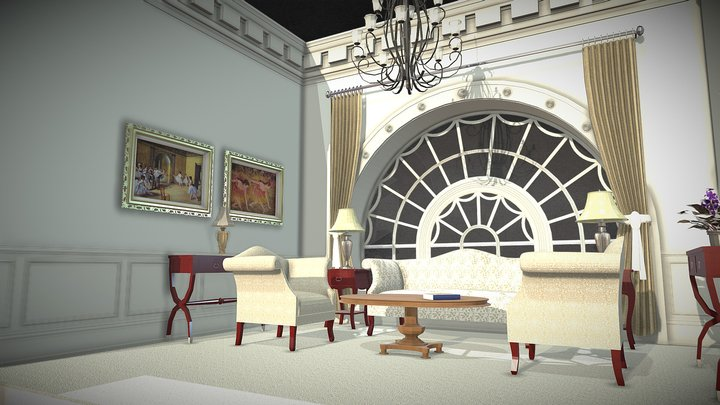 West Wing Model 3D Model