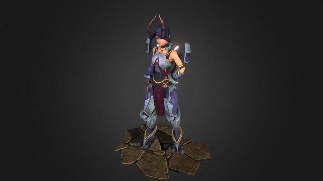 Demon Tech-Priest 3D Model