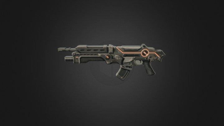 The Gun 3D Model