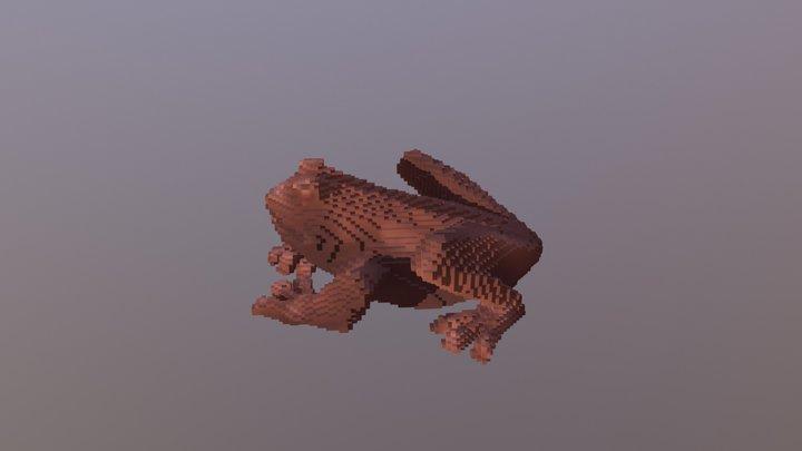 Chocolate Frog 3D Model