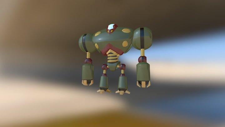 07-(d) Robot complete 3D Model
