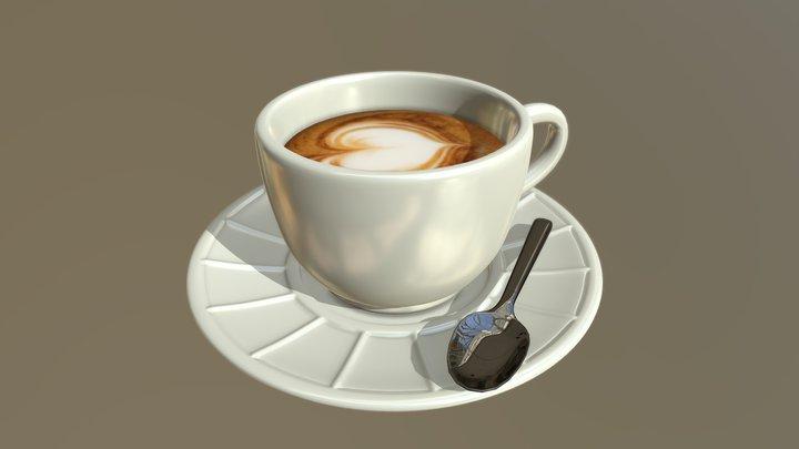 Morning coffee 3D Model