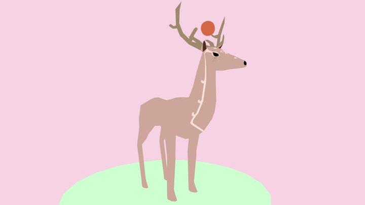 The Guardian of Jupiter - Deer WIP 2 3D Model