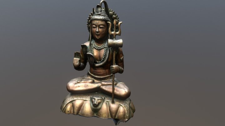 Shiva 3D Model