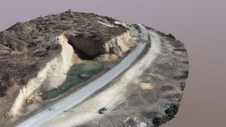 Landslide 3D model -  Resen 3D Model
