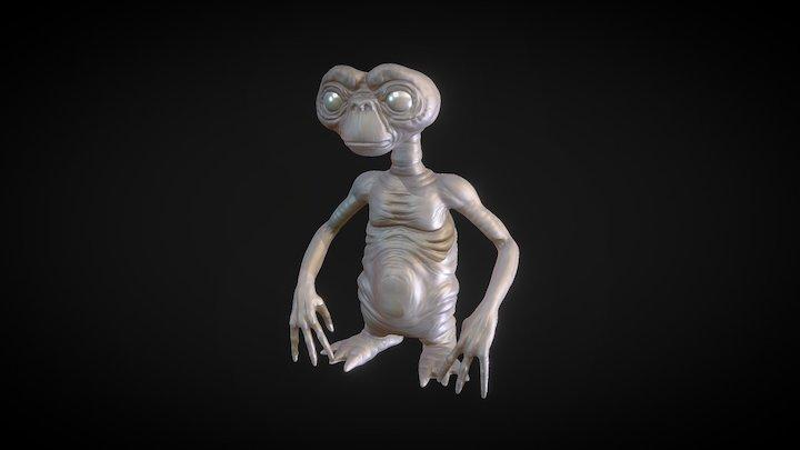 ET Lowres 3D Model