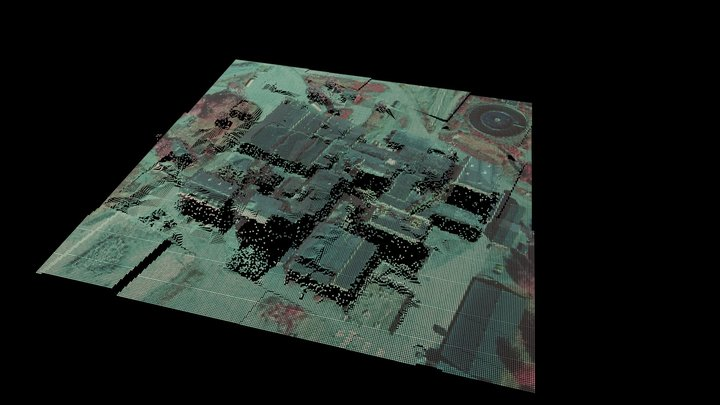 Indutrial Heritage sample, Hiendanranta 3D Model