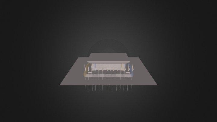 ДворецКультуры 3D Model
