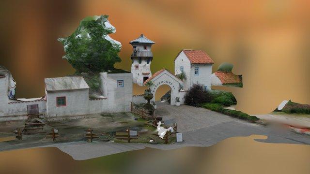 Kristinsand Amusement Park -Cardamom Town 3D Model