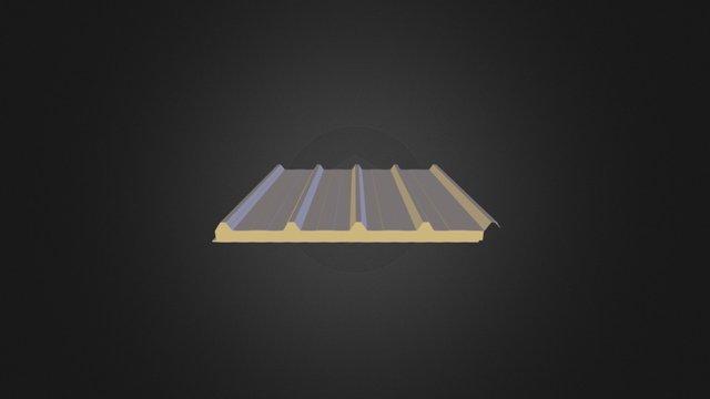 5 Hadveli Çatı Paneli 3D Model