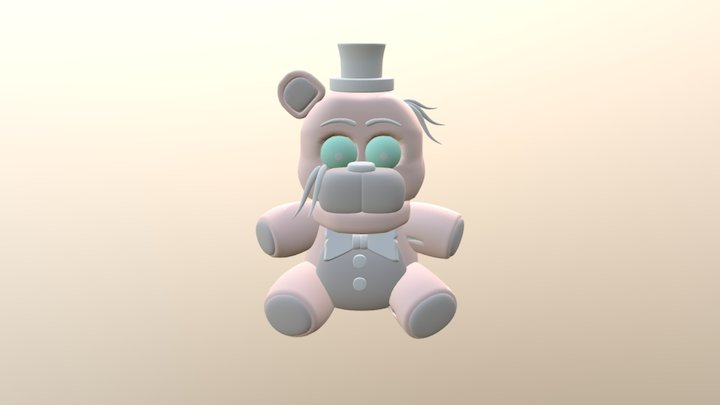 Withered Freddy Plush 3D Model