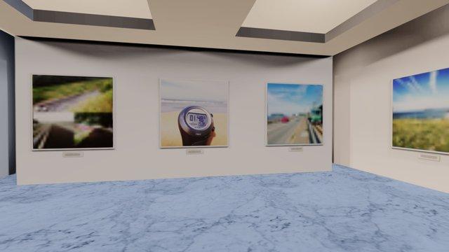 Instamuseum for @sanadas 3D Model