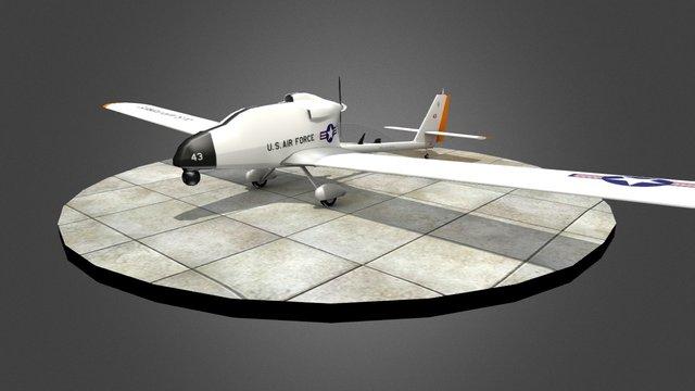 TWS - TUAV 3D Model