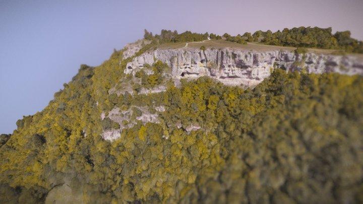 Baulme-la-Roche 3D Model