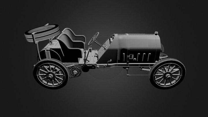 Fiat F2 1907 3D Model