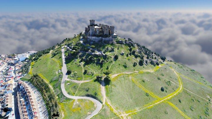 CastilloAlmodovar Castle GAME OF THRONES Scenary 3D Model