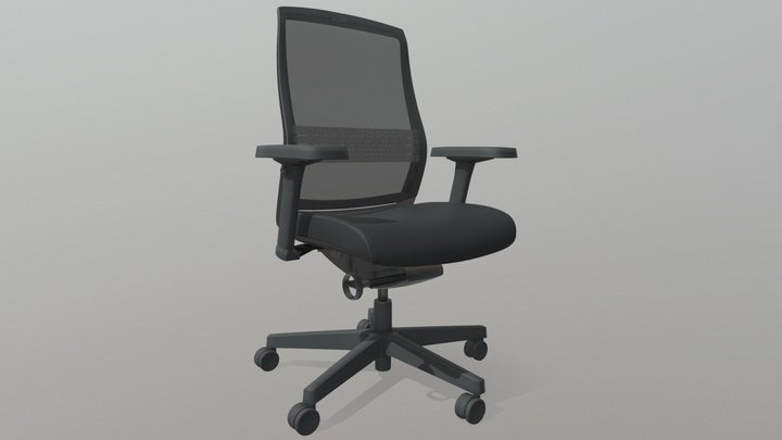 Swallow Chair Back 3D Model