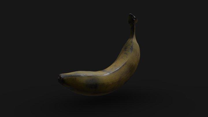 Banana photogrammetry | Game ready asset 3D Model