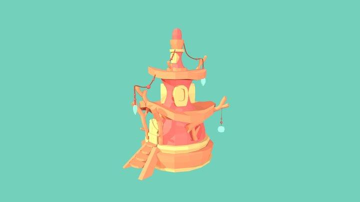 Fantasy House ◉◡◉ 3D Model