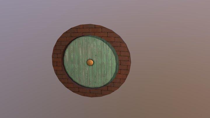 Hobbit Hole Door 3D Model