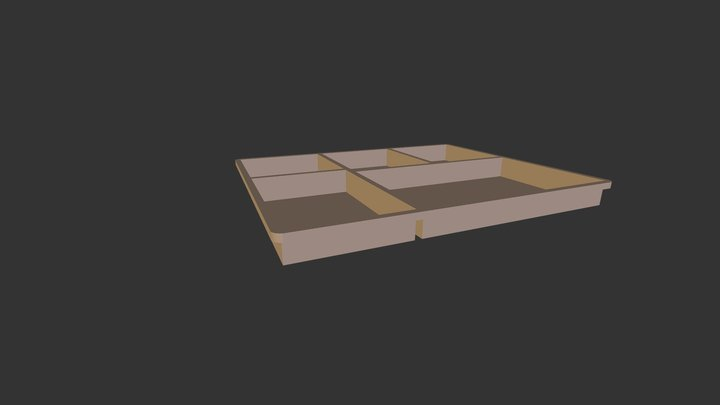 Tray Q1 3D Model
