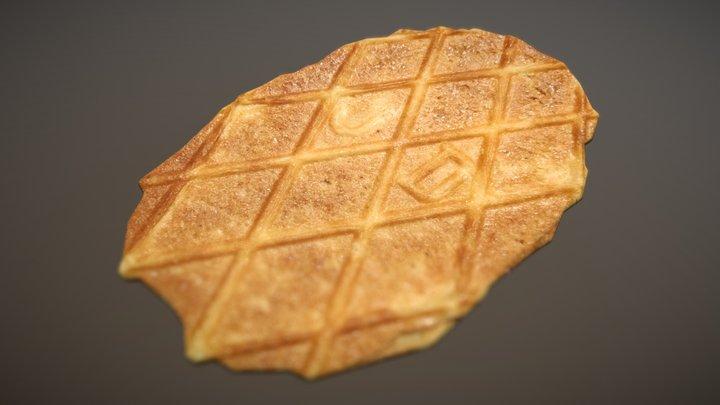 Stroop Waffle 3D Model