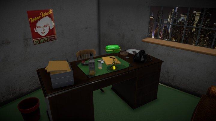 Private Eye Office 2 3D Model