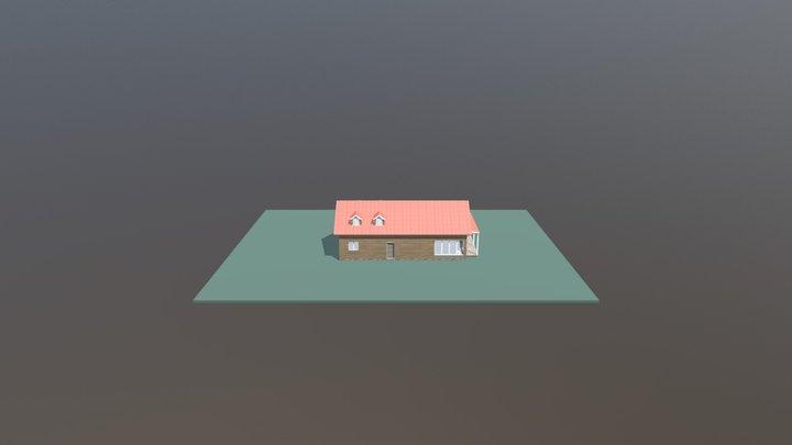 Cabin For Sketchfab 3D Model