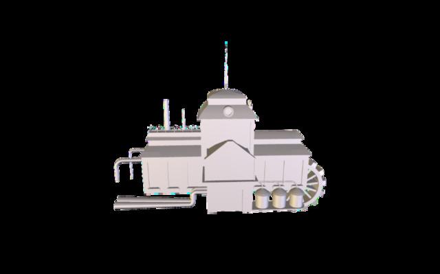 Batiment 2 3D Model
