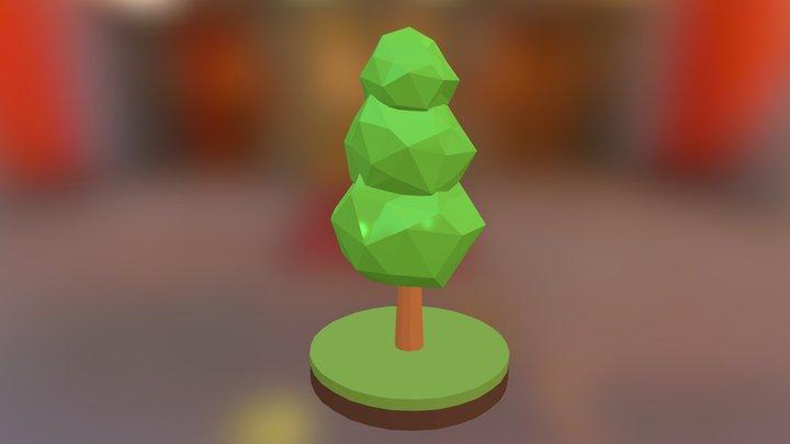 Tree Low Poly #02 3D Model