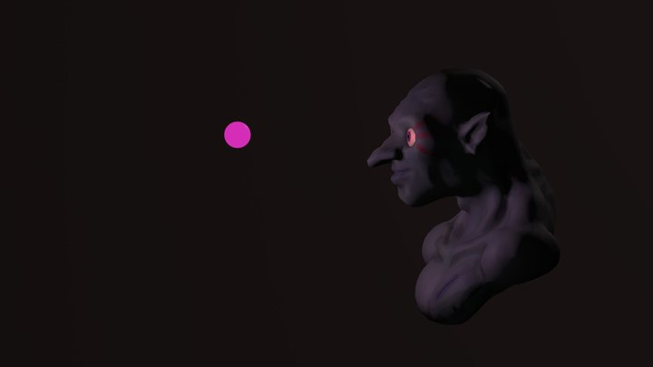 Goblin and the Sprite 3D Model