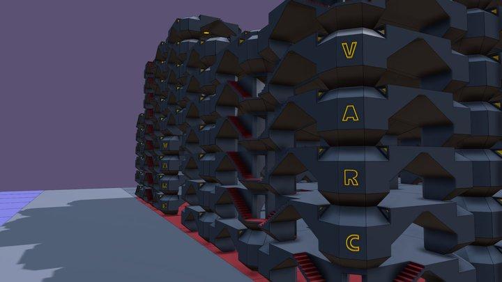 VARC_Module 1_Cell VARC Layout 3D Model