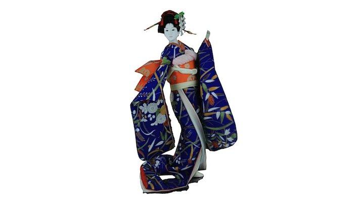 Inagawa geisha 3D Model