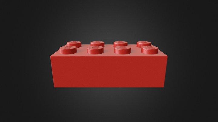 Test Brick 3D Model