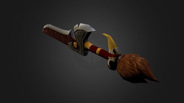 Sword 2 3D Model