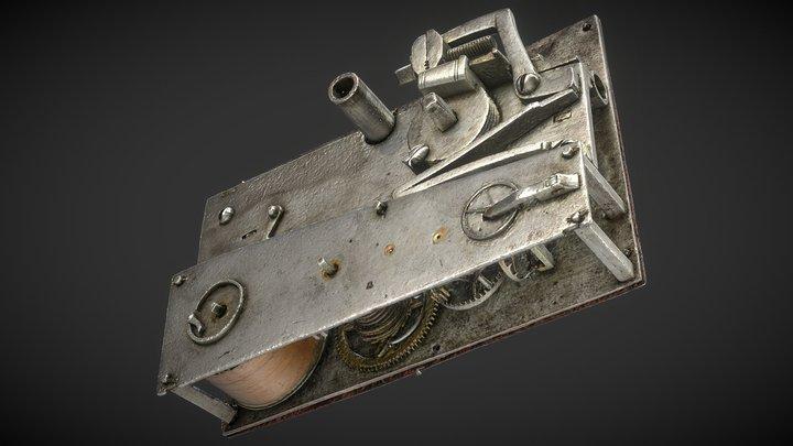 Detonationsurverk 3D Model