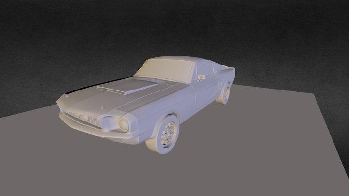 MustangWebExp 3D Model