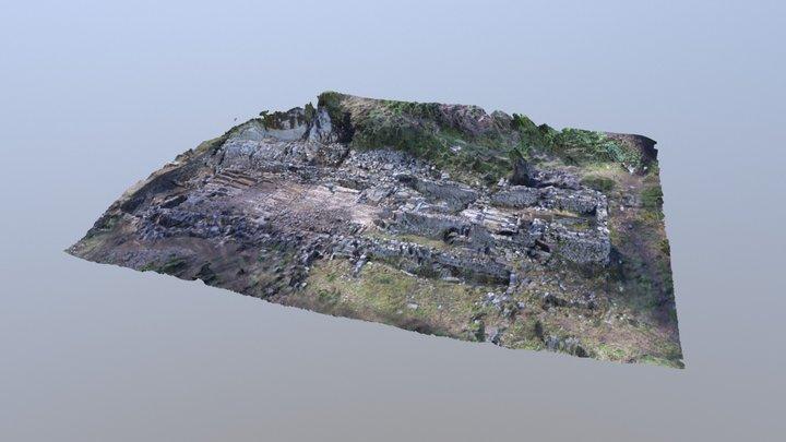 Fouilles archéologiques du Saint Mont. 3D Model